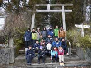 26耐寒登山7