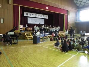 校内音楽会6
