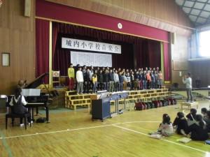 校内音楽会7