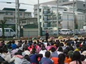26地震避難訓練2