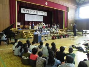 校内音楽会1