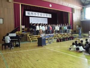 校内音楽会8