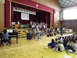 29音楽会6年3組合奏