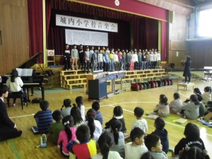 校内音楽会5